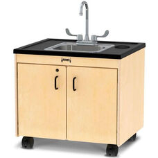 Clean Hands Helper Mobile Hand Washing Station with 26