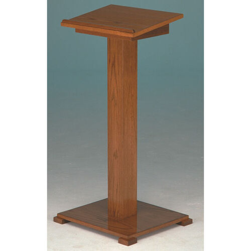 Our Stained Red Oak Lectern with Lift-Lid is on sale now.