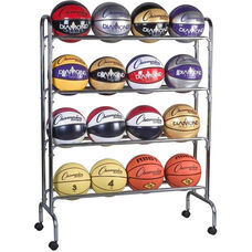 16 Count Basketball Cart
