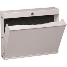 LapTop Locker with Keyed Lock - Light Gray