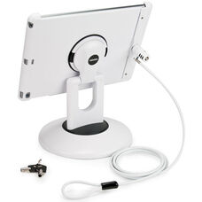 Locking ViewStation for Various Generation iPads - White