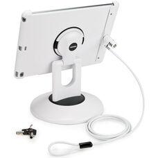 Locking ViewStation for Various Generation iPads - White
