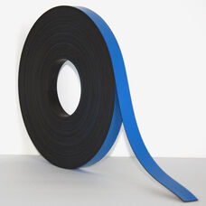 .5''H x 50'L Colored Magnetic Strips - Blue