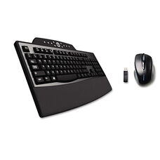 Kensington® Pro Fit Comfort Desktop Set - Wireless - Black