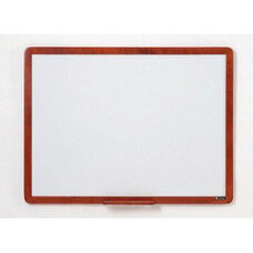 2900 Series Markerboard with Wood Face Frame - 48