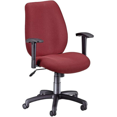 Our Ergonomic Upholstered Managers Task Chair with Arms - Burgundy is on sale now.