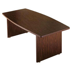 Customizable Boat Shaped American Conference Table - 38-48''W x 120''D x 30''H