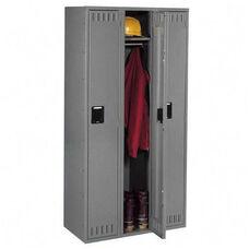 Tennsco Wardrobe Locker - Single Tier - 3 Wide