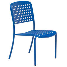 Hanna Armless Stacking Aluminum Side Chair