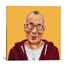 Dalai Lama by Amit Shimoni Gallery Wrapped Canvas Artwork