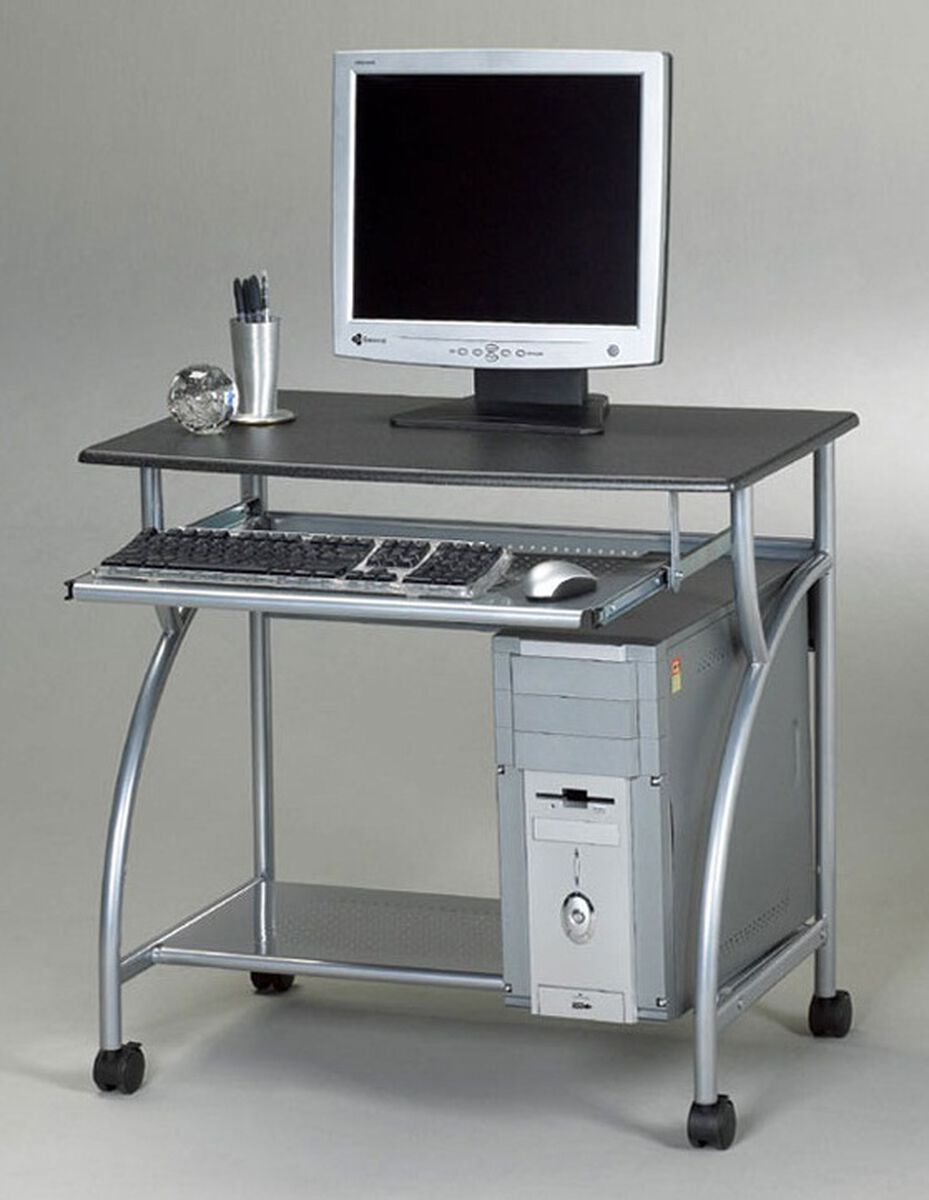Our Argo Mobile Pc Workstation With Slide Out Keyboard Tray And Cpu Shelf Anthracite Is