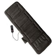 10-Motor Massage Mat with Heat - Gray