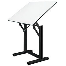 Ensign Black Drawing Table - 48