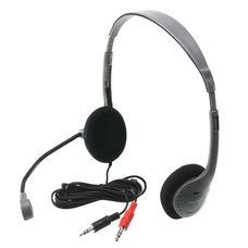 Personal Multimedia Headphone W/ Microphone
