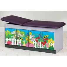 Secret Garden Cabinet Table - Adjustable Backrest