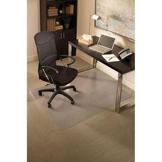 EverLife 60''W x 96''D Medium Pile Rectangular Anchorbar Chairmat