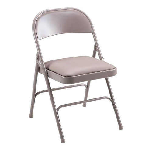 Our Lorell 225 lb. Capacity Beige Steel Folding Chair with Padded Seats - Set of 4 is on sale now.