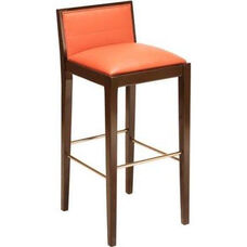 467 Bar Stool w/ Upholstered Back & Seat - Grade 1