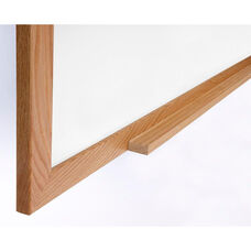 Ghent Wood Frame Porcelain Magnetic Whiteboard - 24