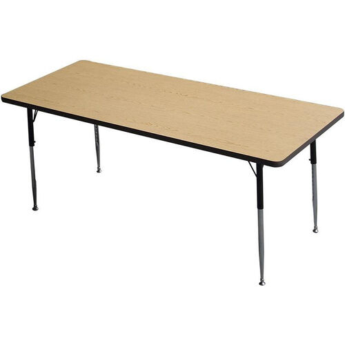 Rectangle Shaped Particleboard Activity Table - 30