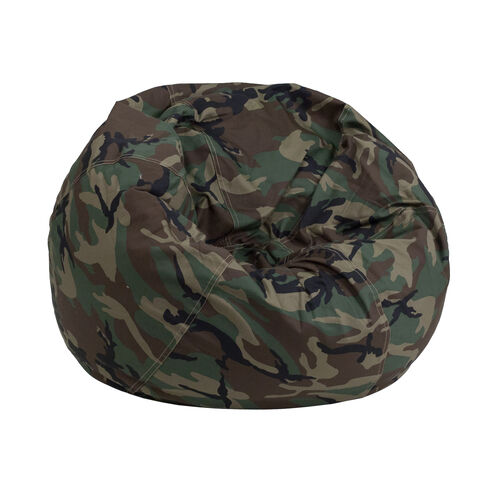 Our Small Camouflage Kids Bean Bag Chair Is On Now
