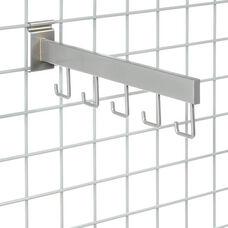 Set of 6 Chrome 5 Hook Arm - 16