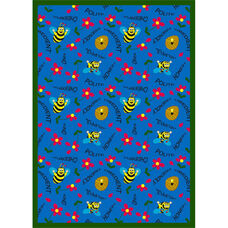 Bee Attitudes Rug
