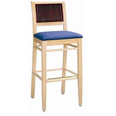 596 Bar Stool w/ Upholstered Seat - Grade 1