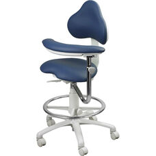 EGF-9100 Series - Assistant Stool with Stitched Upholstery