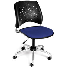 Stars Swivel Chair - Royal Blue