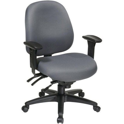 Our Work Smart Mid Back Multi Function Office Chair with Ratchet Back Height Adjustment is on sale now.