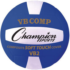 VB Pro Comp Official Size and Weight Volleyball - Blue and White