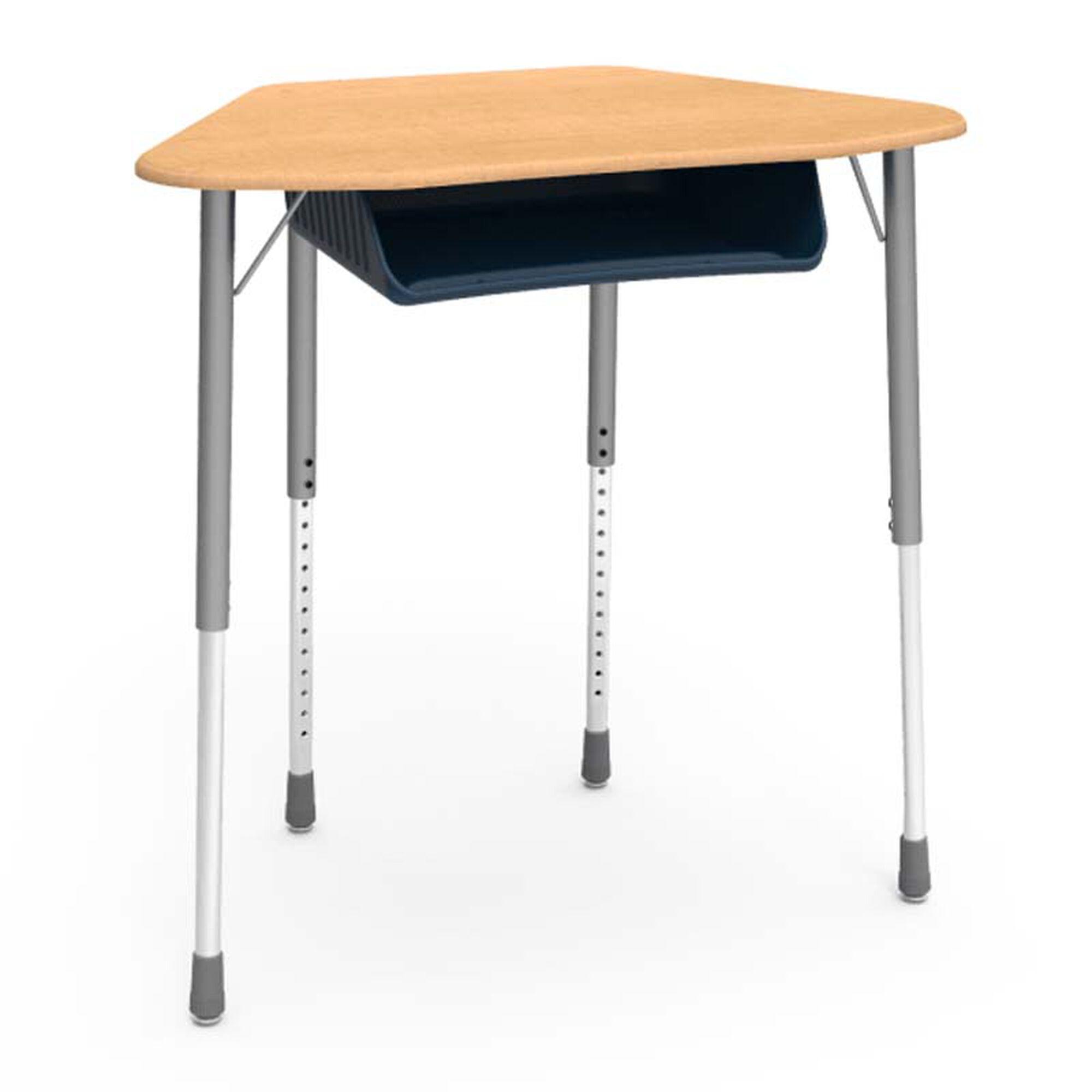Zuma Adjustable Student Desk 4048247 Schoolfurniture4less Com