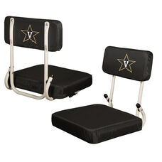 Vanderbilt University Team Logo Hard Back Stadium Seat