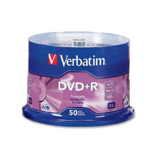 Verbatim 16X Speed Branded Dvd+R Spindle - Pack Of 50