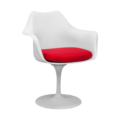Our Lily Arm Chair with Removable Red Cushion is on sale now.