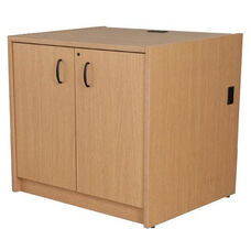 Circulation Hinged Locking Door Unit with Laminate Top - 36