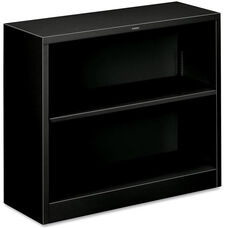 The HON Company Heavy Duty Metal Bookcase - Black