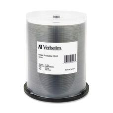 Verbatim Inkjet Silver Print Cd-R Discs - Pack Of 100