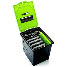 10 Tablet Storage Unit Tech Tub™ Premium with USB Charging Hub and 2 Padlocks - 12.5