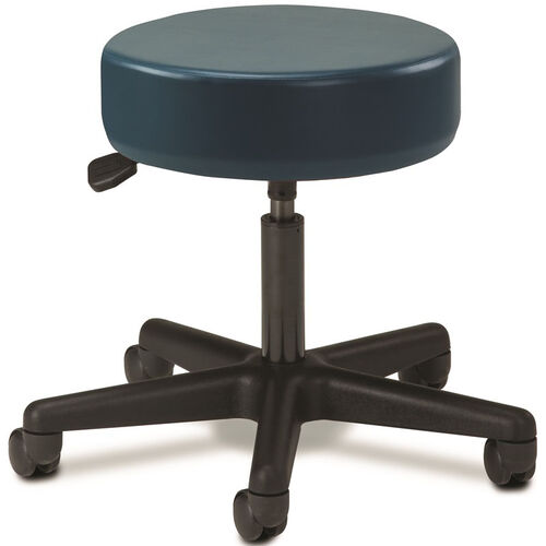 Our Pneumatic Adjustable Medical Stool - Slate Blue with Black Base is on sale now.