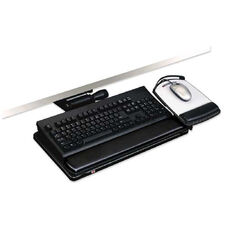 3M Lever-Free Adjustable Keyboard/Mouse Tray