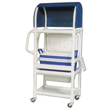 Ice Cart with Canopy Top and Casters - 20