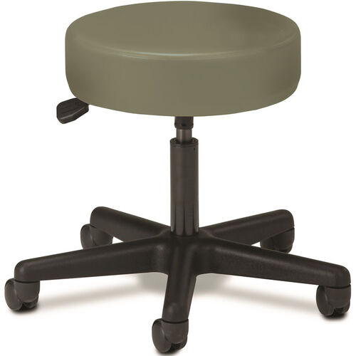 Pneumatic Adjustable Medical Stool - Willow with Black Base