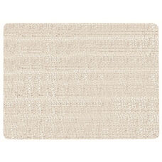 Frameless Burlap Weave Vinyl Display Panel with Radius Corners - Cement - 18