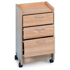 Smart Carts™ and Bedside Mobile Cabinet with Three Drawers