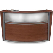 Marque Plexi Single Reception Station - Cherry