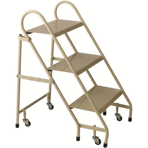 Our 3 Step Steel Folding Ladder - Beige is on sale now.