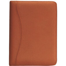 Junior Writing Padfolio - Top Grain Nappa Leather - Tan