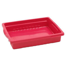 Royal Stubby Tubby Shallow Storage Tub in Red - 12